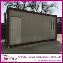 2015 Comfortable Prefab Flat Pack Office Prefabricated /Container House