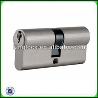 Euro Profile Double Open Brass Cylinder Made In China