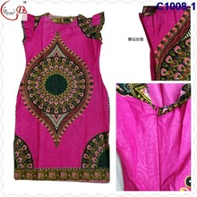 C1008 2016 newest popular loose comfortable colorful special pattern long dress, soft material,African women's dashiki dress