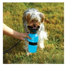 Outdoor Portable Dog Water Bottle Travel Water Drink Bottle Bowl for Pet Cat