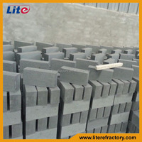 Factory Manufacture High Temperature 1800c Refractory Si3N4 Bonded SiC Brick for Furnace