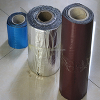 Self adhesive modified bitumen sealing tape for foundation