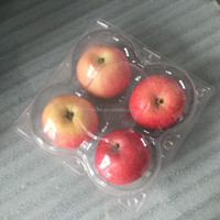 disposable plastic clear fruit food tray
