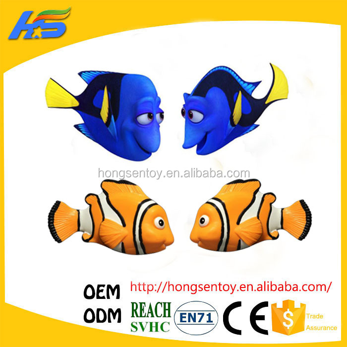 2016 hot sale finding Nemo finding Dory mini plastic fish toys
