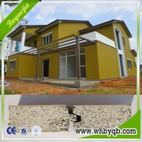 China high quality cheap prefab homes for sale made by eps sanswich wall panel