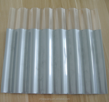 chinese supplier clear polycarbonate corrugated plastic roofing sheets