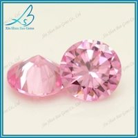 1-10mm round synthetic aaa cubic zirconia stone prices
