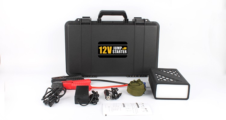 12V truck jump starter 1200 amp instructions f