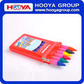 6pcs 1.1*10cm cheap stationery promotion wholesale Kids multicolor Crayon