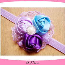The latest headband design for baby fancy hairbands Baby Headbands Infant Girls Flower Hairband