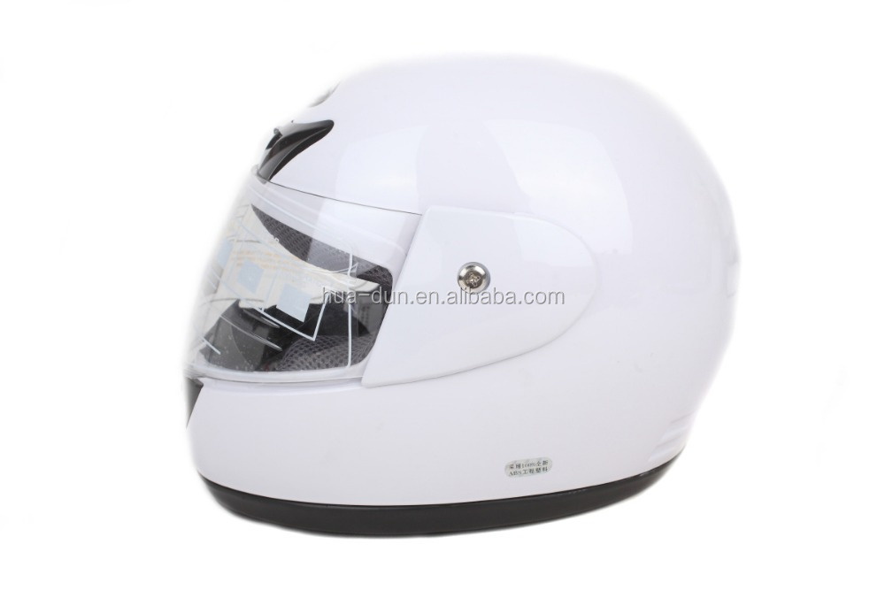 ABS shell motorcycle full face helmets motorcycle with sun visor (HD-02B)