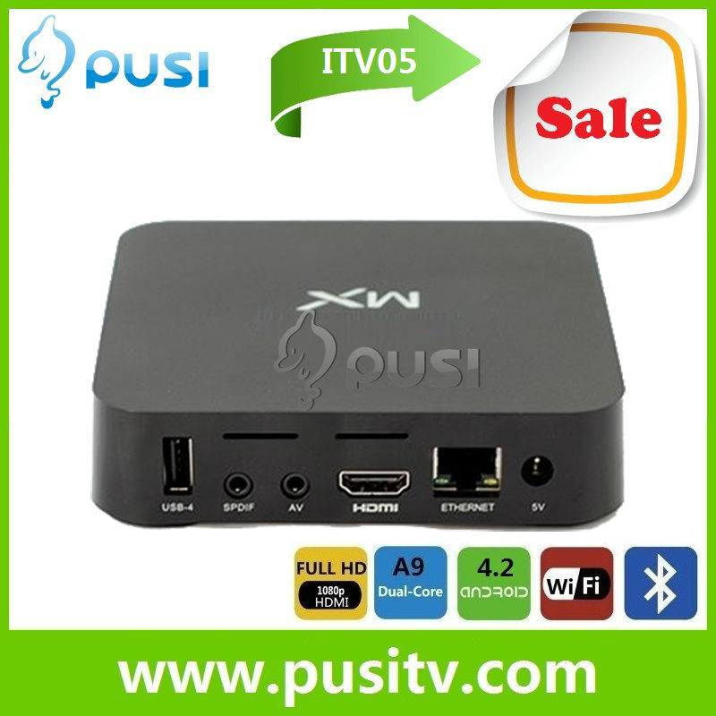 AML8726-MX Dual Core 8GB Flash Android 4.2 Smart TV Box with preinstall XBMC
