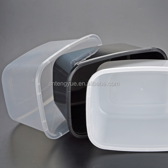 Wholesale cheap plastic transparent food catering box