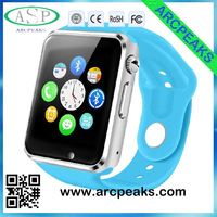 Android smart watch Bluetooth SmartWatch phone with SIM, camera, heart rate monitor