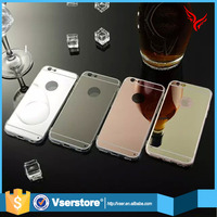 cell phone case for iphone 6 6s waterproof phone case tpu soft mirror mobile phone case cover