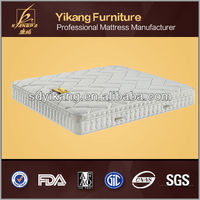 luxury queen size malaysia latex mattress with pocket spring support