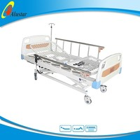 ALS-E307 Mesh steel bed board medical electric adjustable height metal table legs