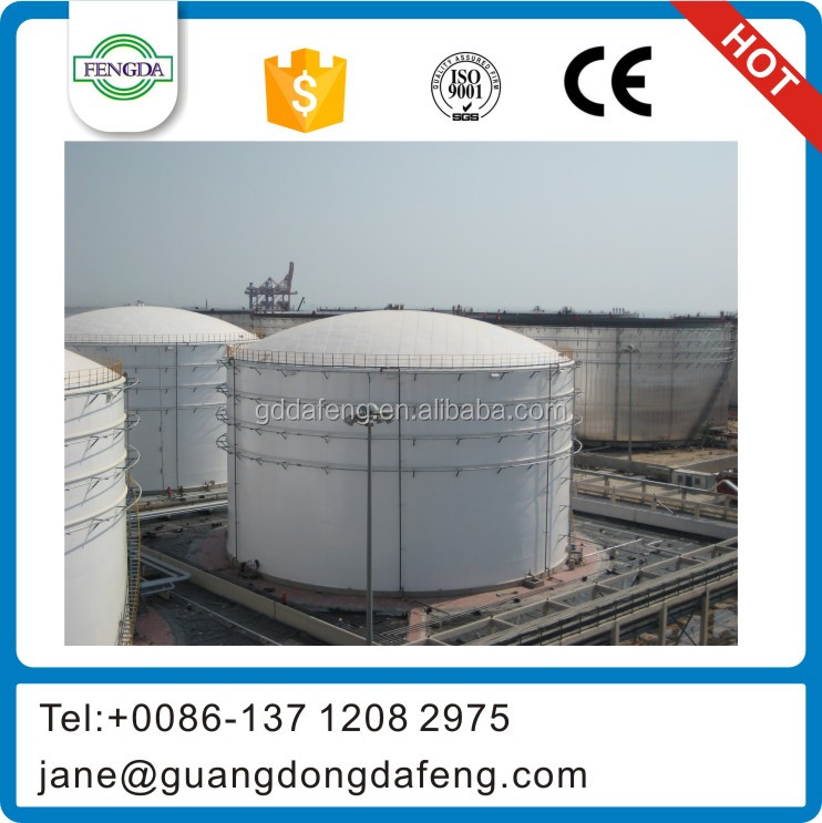 Crude oil storage tank manufacture, Turn-key Solution Provided for oil tank farm