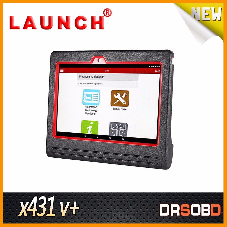 Hot Sale Install software by wifi Global Version Launch X431 V+ scanner tool updated from x431 iv