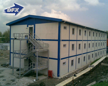 Temporary Steel Structure Frame Prefabricated School Building
