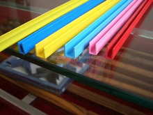 Plastic PVC Thunking PVC Floor Strip