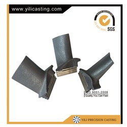 nickel base alloy vacuum casting ge frame 5 gas turbine