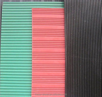 3 Mpa fine ribbed rubber sheet - roll