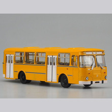 mini double-decker scale model toy bus 1:32 scale new model bus for display