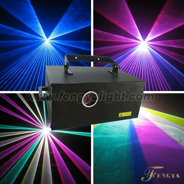 5W RGB full color animation laser light