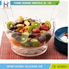 High Grade Ice Cream Bowl Fruit Transparent Plastic Salad Bowl