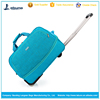 High quality waterproof nylon travel duffel bag trolley travelling bag with wheel