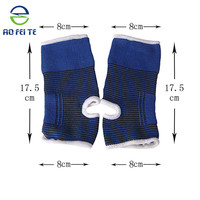 Ankle support 2pcs elastic neoprene support feet protector brace sport sock