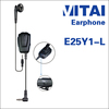 VITAI E25Y1-L Single Side Earhook & Earbuds Type Bluetooth Headphone Wired for Two Way Radio