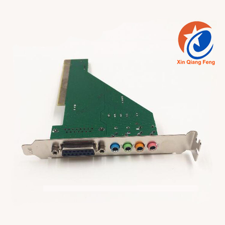 High speed green pci CMI8738 sound card cmi8738 4ch PCI 4.1 Sound Card
