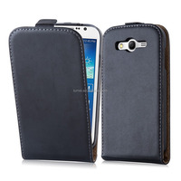 Premium Luxury Commercial Flip Genuine Leather Phone Case Cover For Samsung I9060 Galaxy Grand Neo Plus