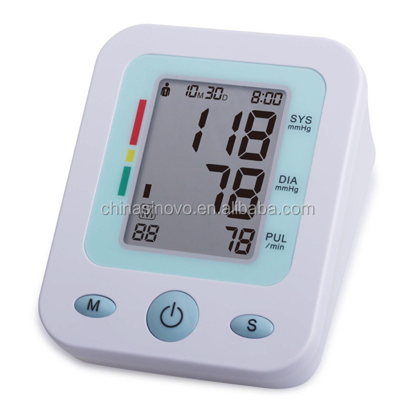 FDA CE approved Fully automatic upper arm style digital blood pressure monitor