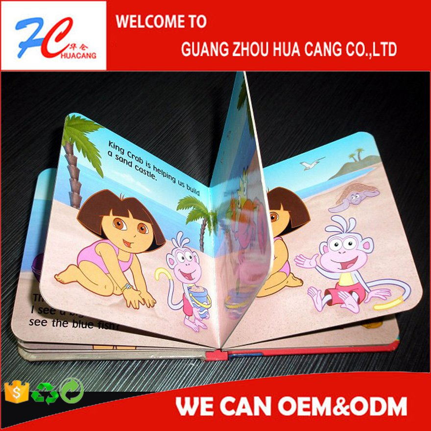 High Quality cheap Hardcover Case Bound Book Printing , Children Book , Sewn Binding Book