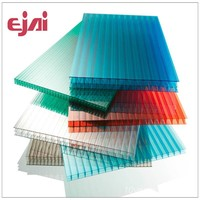 2015 hot products 100% virgin Polycarbonate sheet with 10years warranty/Hollow polycarbonate sheet