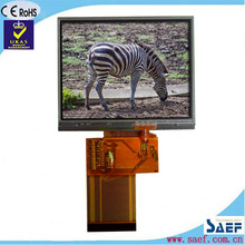 "3.5"" landscape QVGA 320*240 normal viewing angle TFT lcd touch display"