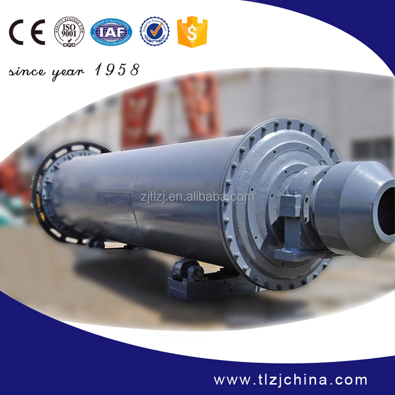 New energy saving tube ball mill with CE ISO certification
