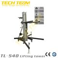 Maxi Lifting Height 5.4m Line Arry Tower Lift ,Speaker Lifting Tower