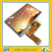 TTL Interface 7 Inch LCD Advertisment Display Touch Screen