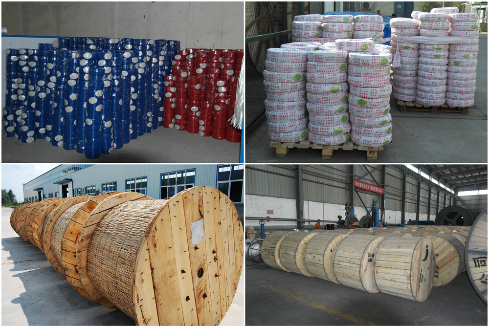 PVC Insulated Electrical Wire & Cable Manufacture BV/Bvr/BVVB/RV/Rvv