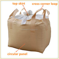 Wholesale 100% virgin polypropylene jumbo big bag trustworthy supplier