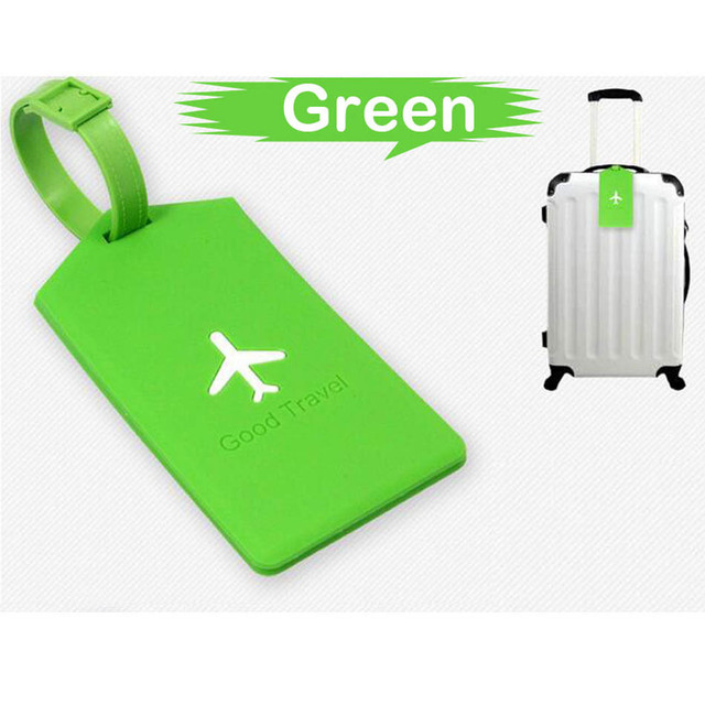 Laggage&bags Accessorles Cute Novelty Rubber Funky Travel Luggage Label Straps Suitcase Luggage Tags