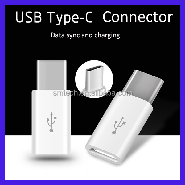 2016 USB 3.1 Type-C Male to Micro USB to usb Female Adapter GuangZhou factory