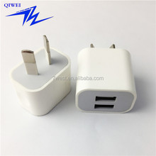 5V 2A Universal 2 USB Port Australia Type Wall Charger For Home Travel Dual USB Wall Charger