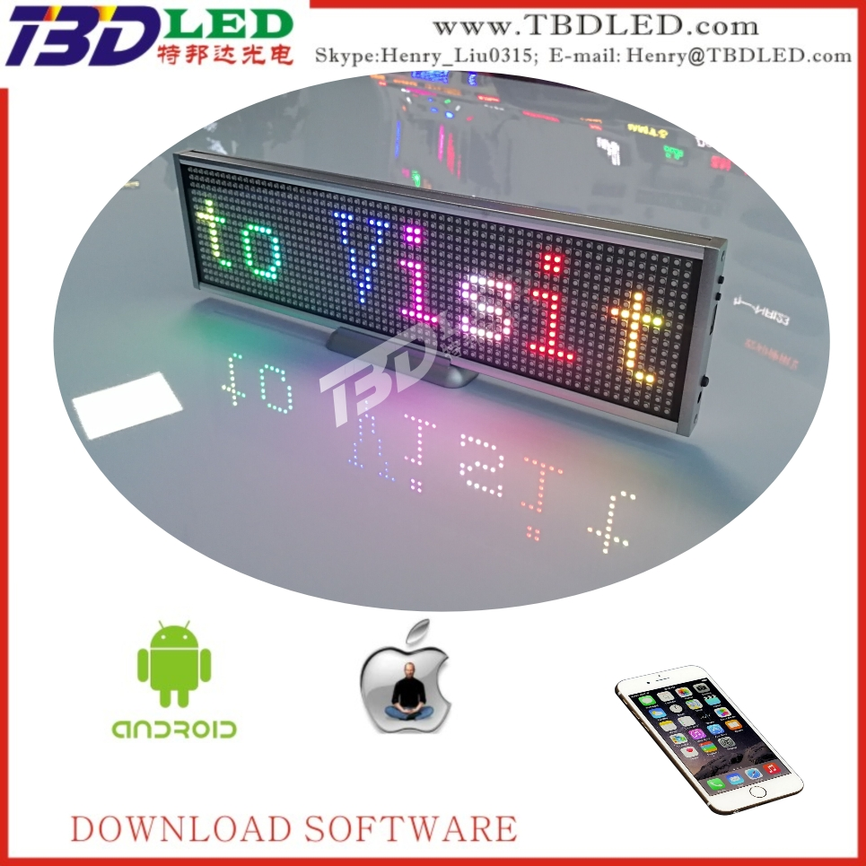 Ali express Wholesale high quality full color IOS&Android wifi control indoor LED screen