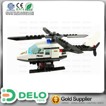 wholesale china goods plastic self assemble toys plane building blocks for kids DE0195052