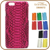 Luxury Pink Color Genuine Boa Python Leather Cell Phone Mobile Phone Case Shell for Iphone 6 or for Iphone6 Plus